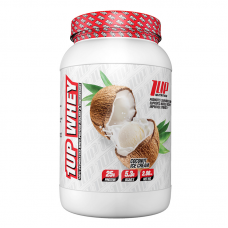 1Up Nutrition Whey Protein 2 Lbs (Coconut Ice Cream)