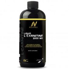 AceVitals L-Carnitine Liquid 3000mg- 31 Servings