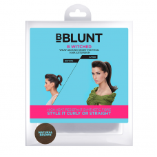 BBLUNT B Hive Volume On Crown Clip-In Hair Extension - Natural Brown