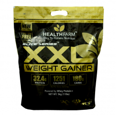 HealthFarm XXL Weight Gainer- 11Lbs