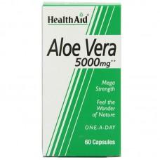 HealthAid Aloe Vera 5000mg (Mega Strength) 60 Capsules