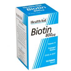 HealthAid Biotin 800µg 60 Tablets