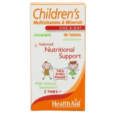 HealthAid Children's MultiVitamins and Minerals Chewable 90 Tablets