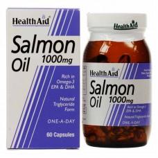 HealthAid Salmon Oil 1000mg - 60 Capsules