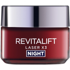 L'Oreal Paris Revitalift Laser X3 Night Cream 50Gm