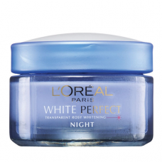 L'Oreal Paris White Perfect Night Cream 50Gm