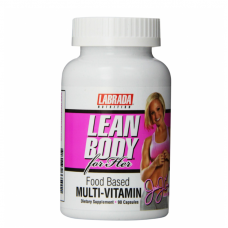 Labrada Lean Body for Her Food-Based Multi-Vitamin 90 Capsules