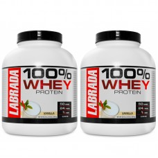 Labrada 100% Whey Protein (Pack of 2)