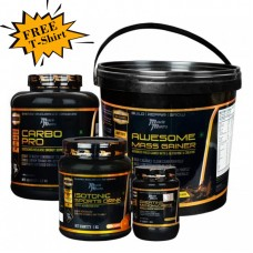 Musclemantra Awesome Mass Combo (Free MM T-Shirt)