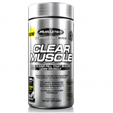 Muscletech Clear Muscle 84 Liquid Capsules