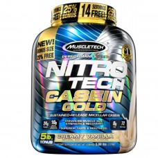 Muscletech Nitro-Tech Casein Gold 5 Lbs