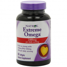 Natrol Extreme Omega 60 Softgels