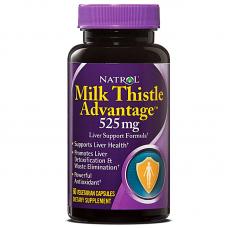 Natrol Milk Thistle Advantage 525 mg - 60 Capsules