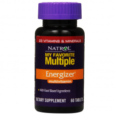 Natrol My Favorite Multiple Energizer - 60 Tablets
