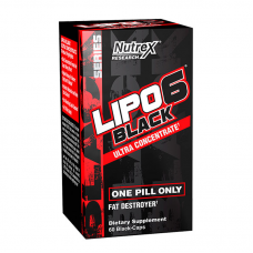 Nutrex Lipo-6 Black Ultra Concentrate 60 Black Capsules