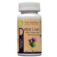 Pure Nutrition Detox Liver Milk Thistle Ultra (Glutathione Booster)
