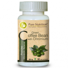 Pure Nutrition Green Coffee Bean with Chromium