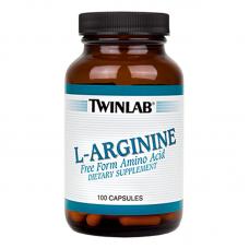 Twinlab L-Arginine 100 Capsules