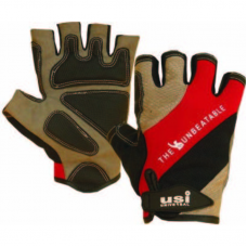 USI Fitness Gloves 733 RBG (Red/Black/Grey)