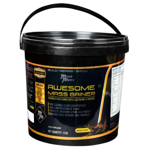 Musclemantra Awesome Mass Gainer 5 Kg