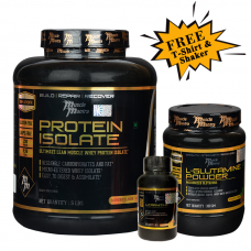 Musclemantra Protein Iso Glutamine Combo