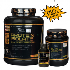 Musclemantra Protein Iso BCAA Combo